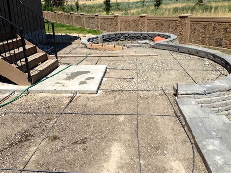 patio and firepit jrs construction utah