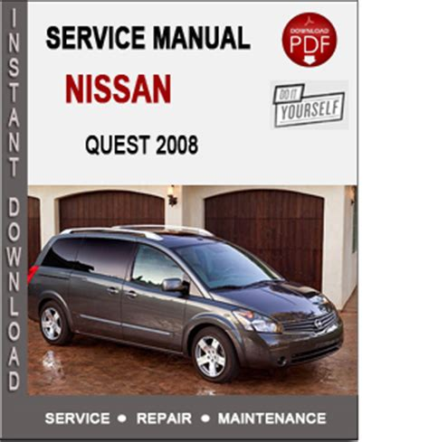service and repair manuals 2008 nissan quest lane departure warning repair manual 2008 nissan quest 2006 nissan quest
