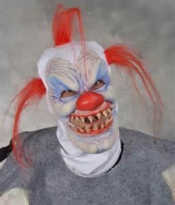 Halloween Mask Very Scary Clowns