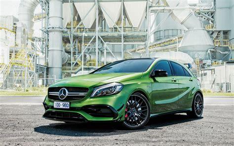 Mercedes A Class Wallpapers by 2016 Mercedes A Class A45 Amg 4matic Wallpaper Hd