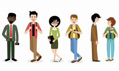 College Students Student Clipart Faculty Language Transparent