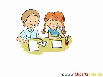 Clipart Lernen Hausaufgaben Station
