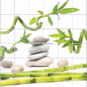 Stickers carrelage salle de bain zen for Carrelage adhesif salle de bain avec achat de led pas cher