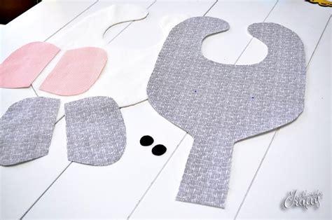 elephant bib binkie holder patterntutorial sewing