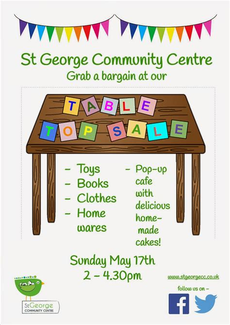 Tabletop Sale by St George Community Centre