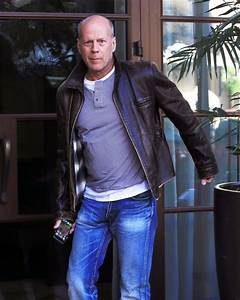 bruce willis bruce willis photos bruce willis out and