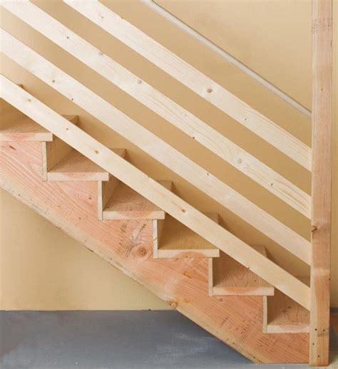 faire un escalier fabriquer un escalier en bois des et des conseils