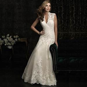 lace wedding dress 2016 backless zipper plus size beach With vintage wedding dresses plus size