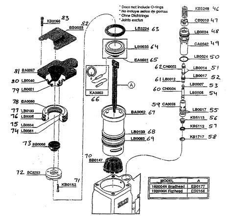Senco Framing Nailer Parts Diagram