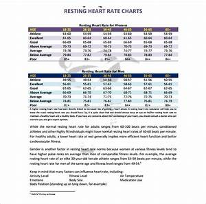 Hospital Chart Template 11 Heart Rate Chart Templates Sample Templates