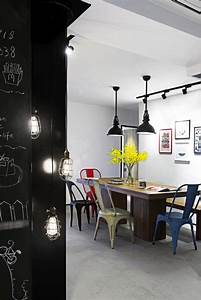 Dining room furniture industrial zone-chic Interior