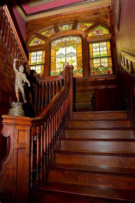 image result for 1910 s mansion stairway stairwell
