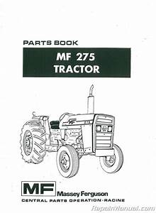 Massey Ferguson Mf275 Dsl Parts Manual