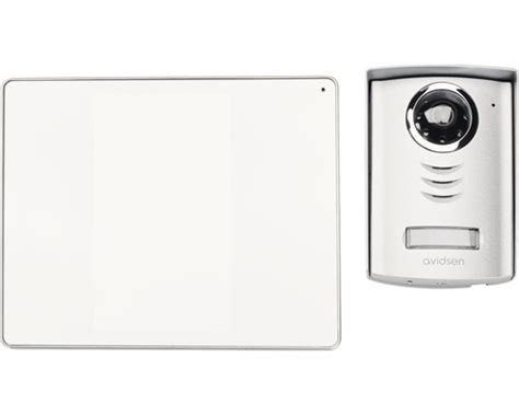 avidsen sprechanlage videosprechanlage luta 2 spiegeleffekt avidsen 112208 bei hornbach kaufen