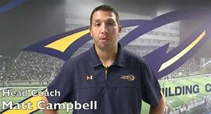 No. 20 Toledo's Matt Campbell is Headed Places | Eleven ...