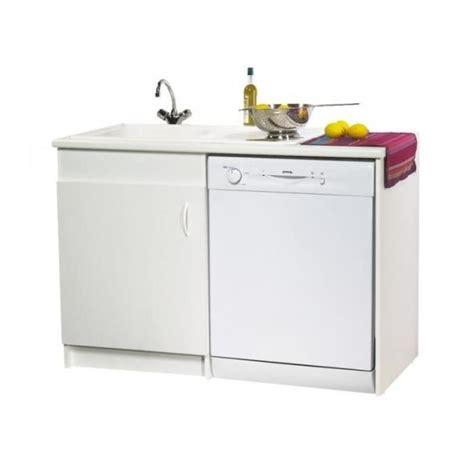 meuble de sous évier option lave vaisselle 120 x 60