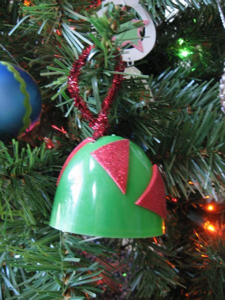 bell christmas ornament no time for flash cards