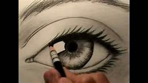 How to Draw a Human Eye - YouTube