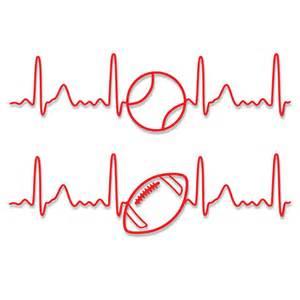 Basketball Heart SVG Design