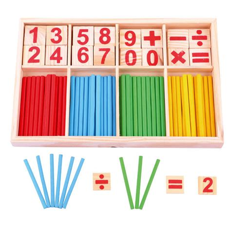 wooden toys mathematics numbers puzzle toys for children