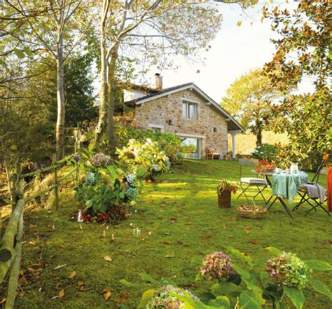 home with garden pictures rustic small house with beautiful garden in spanish home design and interior