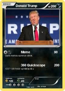 Donald Trump Pokemon Card Memes