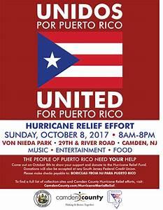 Hurricane Maria Relief Effort   Camden County, NJ