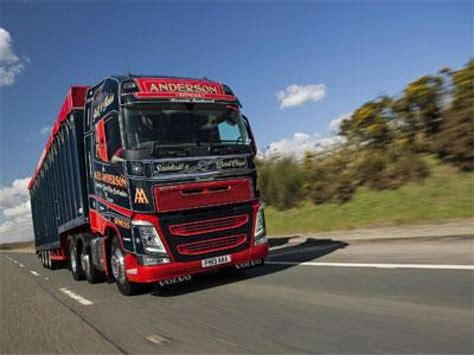 what s the new volvo commercial alex anderson 39 s new volvo fh on the road commercial motor