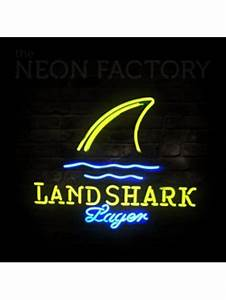 Landshark Lager Neon Sign Ideas for the House