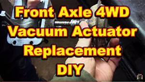 Front Axle 4 Wheel Drive Actuator Replacement 4x4 Dodge
