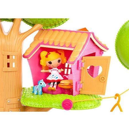 Lalaloopsy House - mini lalaloopsy treehouse playset walmart