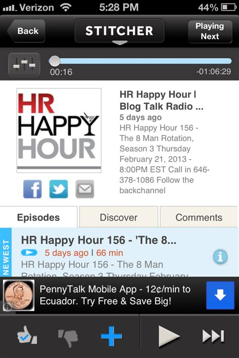 hrhappyhour live tonight social brand and recruiting journal steve s hr technology