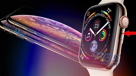 insanity leaked apple series 4 iphone xs