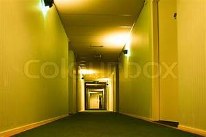 Modern Hotel Corridor | Stock Photo | Colourbox