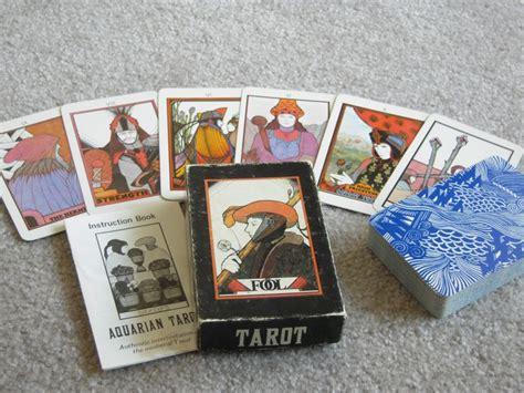 aquarian tarot deck ebay vintage aquarian tarot by press excellent condition