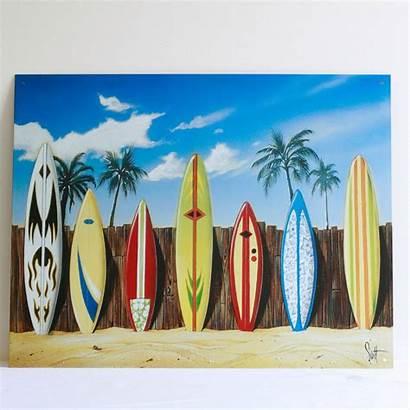Surf Birthday Luau Surfing
