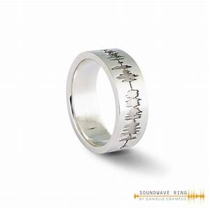 gallery soundwave ring With sound wave wedding ring