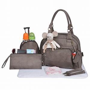 Sac A Langer Original : sac croco bag de baby on board sacs langer aubert ~ Teatrodelosmanantiales.com Idées de Décoration