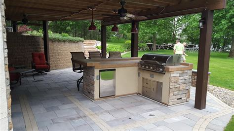Patio And Outdoor by Cannon Lake Firepit Patio Outdoor Kitchen Ns Landscapes