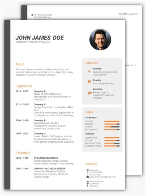 You need a job to get experience, but also you need experience to get a job. Great Superyacht Cv Template Picture how to write a strong ...