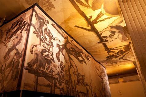 "Jose Maria Sert's ""american Progress"" Mural In Rockefeller. Exchange Banners. Bambi Murals. Phone Company Logo. Zig Zag Murals. Reed Banners. Copic Lettering. Talk Logo. Smoking Diagram Signs"