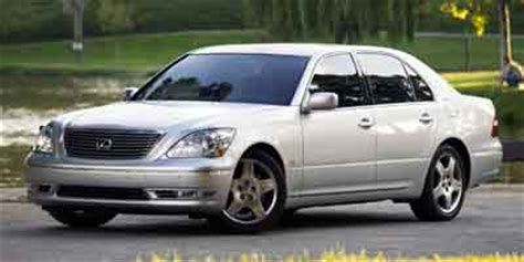 car owners manuals for sale 2004 lexus ls free book repair manuals 2004 lexus ls 430 page 1 review the car connection