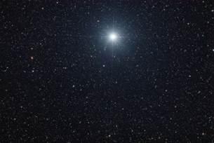 Sirius Star in the Sky