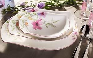 Altes Geschirr Von Villeroy Und Boch : tafelgeschirr mariefleur edles porzellan von villeroy ~ Michelbontemps.com Haus und Dekorationen
