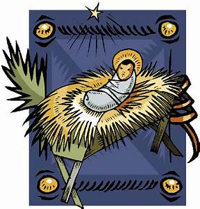 Baby jesus religious christmas clipart free holiday ...