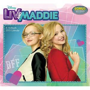 Liv and Maddie 2015 Wall Calendar: 9781629050829 ...