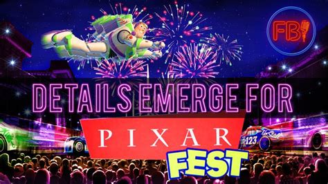 Details Emerge For 2018 Pixar Fest