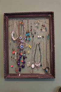 making, a, picture, frame, jewelry, holder