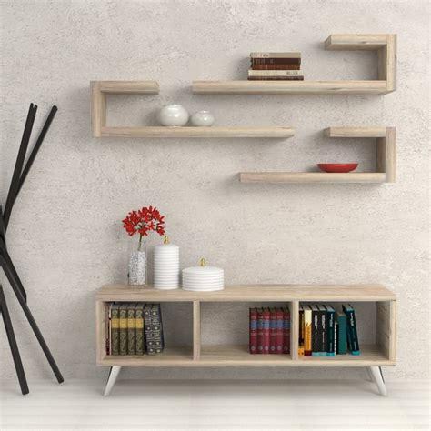 mensole bianco lucido mensole design libreria scala porta oggetti colore bianco