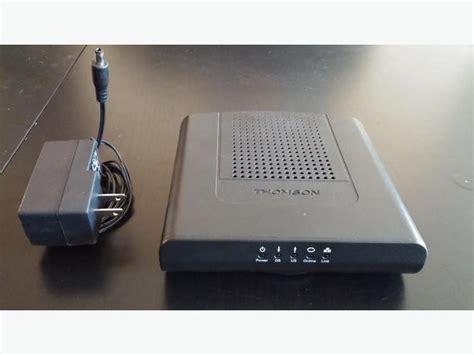 thomson dcm docsis  certified cable modem central
